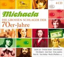 Michaela: Die großen Schlager der 70er-Jahre, 4 CDs