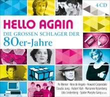 Hello Again: Die großen Schlager der 80er-Jahre, 4 CDs