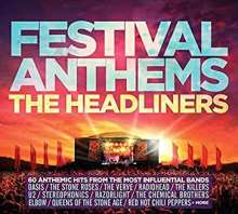 Festival Anthems: The Headliners / Various, 3 CDs