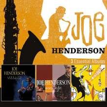 Joe Henderson (1937-2001): 3 Essential Albums, 3 CDs