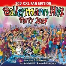 Ballermann Hits Party 2019 (XXL-Fan-Edition), 3 CDs