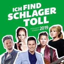 Ich find Schlager toll: Frühjahr / Sommer 2019, 2 CDs