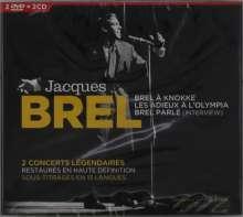 Jacques Brel (1929-1978): En Concert, 2 CDs und 2 DVDs