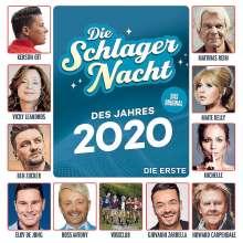 Die Schlagernacht des Jahres 2020 - Die Erste, CD