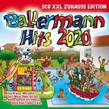 Ballermann Hits 2020 (XXL Zuhause Edition), 3 CDs