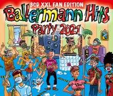 Ballermann Hits Party 2021 (XXL Fan Edition), 3 CDs