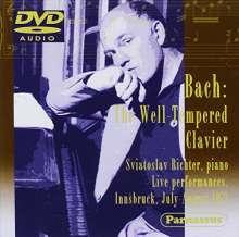 Johann Sebastian Bach (1685-1750): Das Wohltemperierte Klavier 1 & 2, DVD-Audio