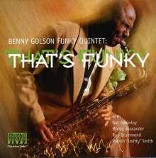 Benny Golson (geb. 1929): That's Funky, CD
