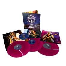 Aerosmith: Rocks Donington 2014 (180g) (Limited Edition) (Translucent Purple Vinyl), 3 LPs und 1 DVD