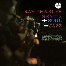 Ray Charles: Genius+Soul = Jazz (Acoustic Sounds), LP