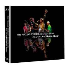 The Rolling Stones: A Bigger Bang: Live On Copacabana Beach 2006, 2 CDs und 1 Blu-ray Disc