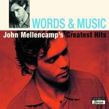 John Mellencamp (aka John Cougar Mellencamp): Words & Music: John Mellencamp's Greatest Hits, 2 CDs
