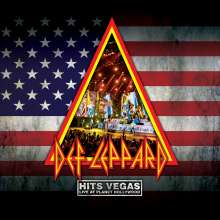 Def Leppard: Hits Vegas: Live At Planet Hollywood (Limited Edition) (Transparent Blue Vinyl), 3 LPs