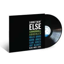 Cannonball Adderley (1928-1975): Somethin' Else (180g), LP