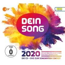 Dein Song 2020, 1 CD und 1 DVD