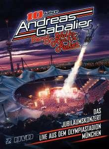 Andreas Gabalier: Best Of Volks-Rock'n'Roller: Das Jubiläumskonzert live aus dem Olympiastadion in München, 2 DVDs
