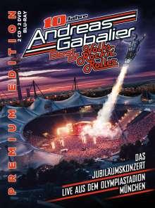 Andreas Gabalier: Best Of Volks-Rock'n'Roller: Das Jubiläumskonzert live aus dem Olympiastadion in München, 2 CDs, 2 DVDs und 1 Blu-ray Disc