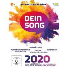 Dein Song 2020 (Die limitierte Fanbox), 1 CD, 1 DVD und 1 Merchandise