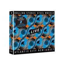 The Rolling Stones: Steel Wheels Live (Atlantic City 1989), 1 Blu-ray Disc und 2 CDs