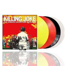 Killing Joke: The Singles Collection 1979 - 2012 (Transparent Yellow/Red & Black/Clear Vinyl), 4 LPs