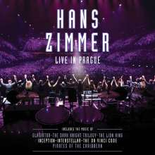Hans Zimmer (geb. 1957): Filmmusik: Live In Prague (Live At The O2 Arena, 2016) (180g) (Limited Edition) (Purple Vinyl), 4 LPs