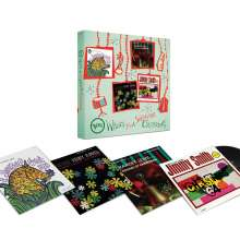 Ella Fitzgerald, Kenny Burrell, Ramsey Lewis & Jimmy Smith: Verve Wishes You A Swinging Christmas! (Boxset) (180g), 4 LPs