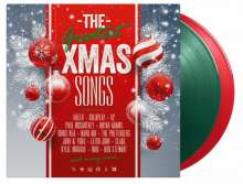 Greatest Christmas Songs (180g) (Limited Numbered Edition) (LP1: Transparent Green Vinyl/LP2: Transparent Red Vinyl), 2 LPs