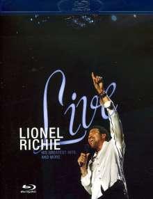 Lionel Richie: Live, Blu-ray Disc