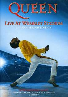 Queen: Live At Wembley (25th Anniversary), 2 DVDs