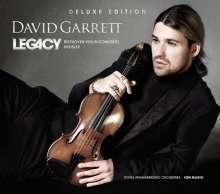 David Garrett - Legacy (Deluxe-Edition mit DVD), 1 CD und 1 DVD
