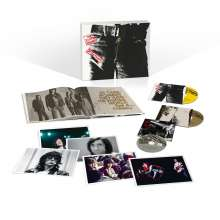 The Rolling Stones: Sticky Fingers (Limited-Deluxe-Edition), 2 CDs, 1 DVD, 1 Buch und 1 Merchandise