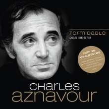 Charles Aznavour: Formidable: Das Beste, 2 CDs