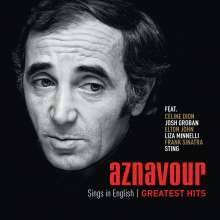 Charles Aznavour (1924-2018): Aznavour Sings In English: Greatest Hits, CD