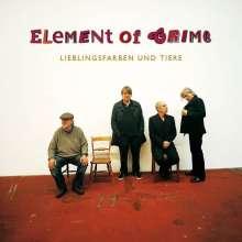 Element Of Crime: Lieblingsfarben und Tiere, CD