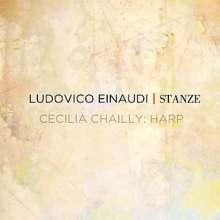 Ludovico Einaudi (geb. 1955): Stanze - Werke für Harfe, CD