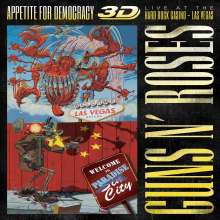 Guns N' Roses: Appetite For Democracy: Live 2012 (Limited-Boxset), 1 Blu-ray Disc und 2 CDs