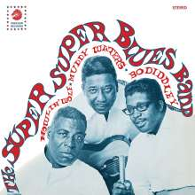 Howlin' Wolf, Muddy Waters & Bo Diddley: The Super Blues Band (Limited Edition) (Clear Vinyl), LP