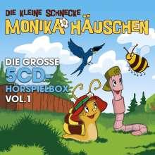 Monika Häuschen-Die Gr.5-CD Hörspielbox Vol.1, 5 CDs