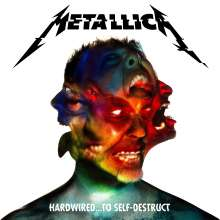Metallica: Hardwired… To Self-Destruct (180g) (Limited Deluxe Edition) (Blue/ Red/ Yellow Vinyl), 3 LPs und 1 CD