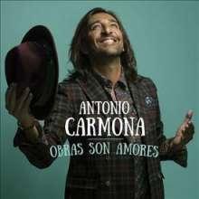 Antonio Carmona: Obras Son Amores, CD
