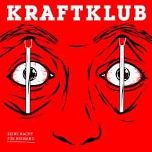 Kraftklub: Keine Nacht für Niemand (180g) (Red Vinyl) (45 RPM), 2 LPs