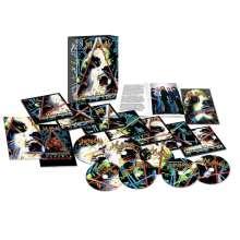 Def Leppard: Hysteria (Limited Super Deluxe Edition), 5 CDs, 4 Bücher und 2 DVDs