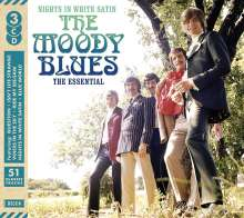 The Moody Blues: Nights In White Satin: The Essential, 3 CDs