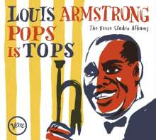 Louis Armstrong (1901-1971): Pops Is Tops: The Verve Studio Albums, 4 CDs