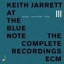 Keith Jarrett (geb. 1945): At The Blue Note: The Complete Recordings III (Touchstones), CD