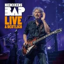 Niedeckens BAP: Live & deutlich (180g), 4 LPs