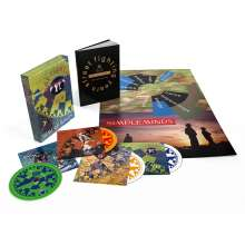 Simple Minds: Street Fighting Years (Limited Edition), 4 CDs und 1 Buch