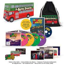 The Kelly Family: We Got Love - Live At Loreley (Limited Fanbox), 2 CDs, 3 DVDs und 1 Merchandise