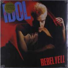 Billy Idol: Rebel Yell (Limited-Edition) (Clear Red Vinyl), LP