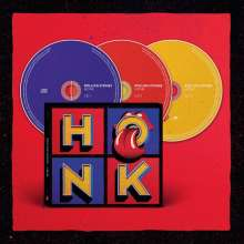 The Rolling Stones: Honk (Limited Deluxe Edition), 3 CDs